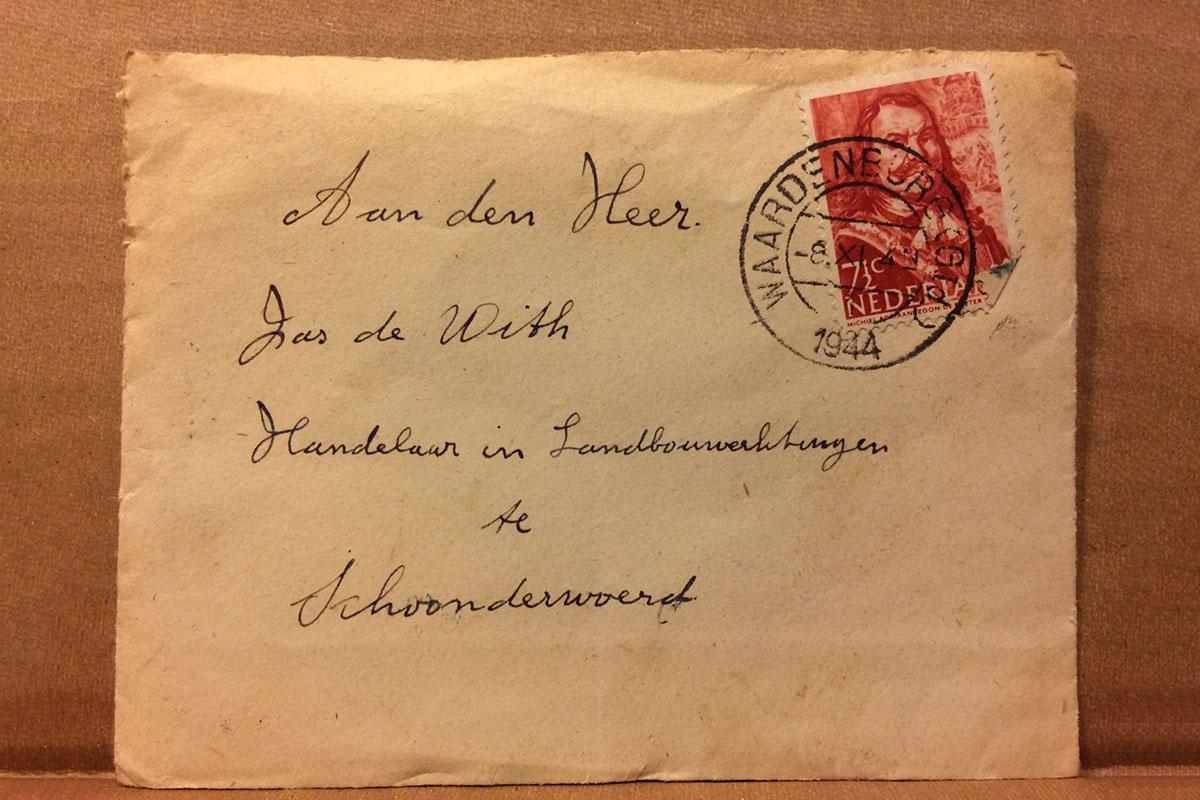 Een Brief Uit De Frontlinie